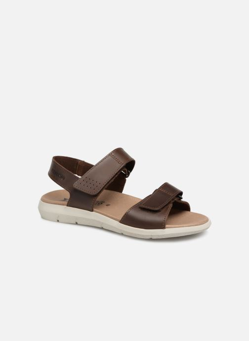 Sandaler Mephisto Corado C Brun detaljeret billede af skoene