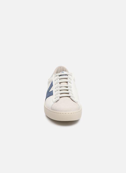 Sneakers Victoria Berlin Piel Contraste Wit model