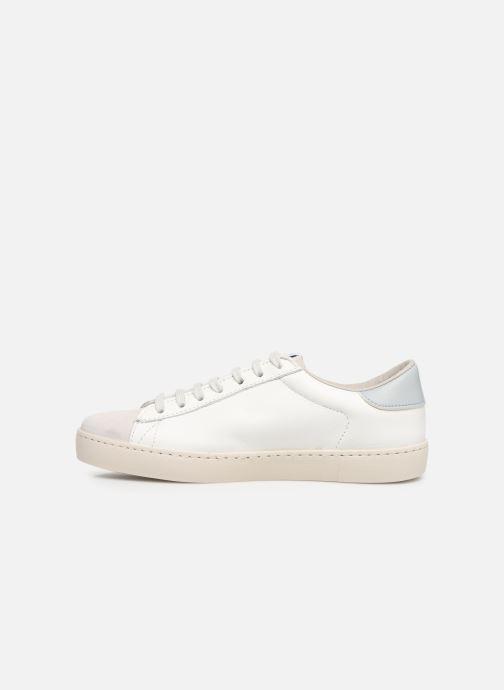Sneakers Victoria Berlin Piel Contraste Wit voorkant