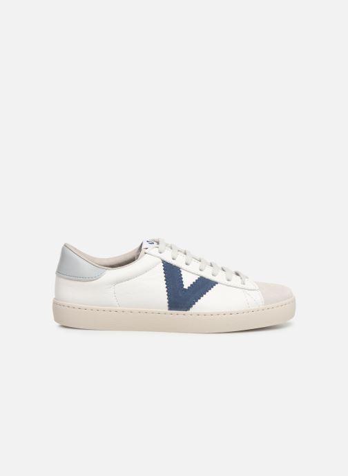 Sneakers Victoria Berlin Piel Contraste Wit achterkant
