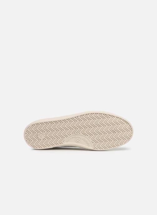Sneakers Victoria Berlin Piel Contraste Wit boven