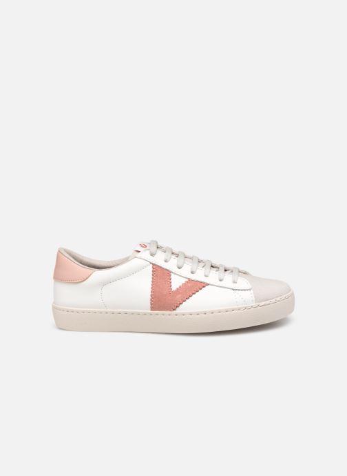 Sneakers Victoria Berlin Piel Contraste Bianco immagine posteriore