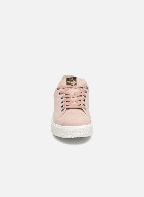 Baskets Victoria Utopia Relieve Antelina Rose vue portées chaussures
