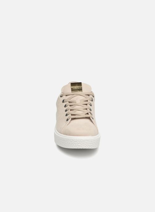 Baskets Victoria Utopia Relieve Antelina Beige vue portées chaussures