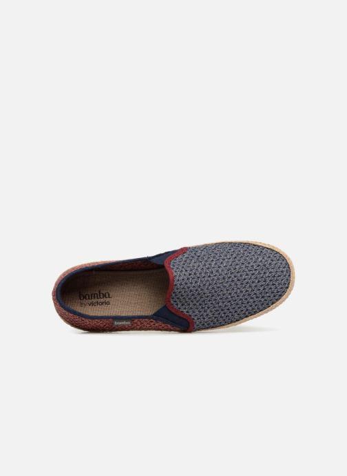 Scarpe di corda Victoria Andre Elasticos Rejilla Bico Azzurro immagine sinistra