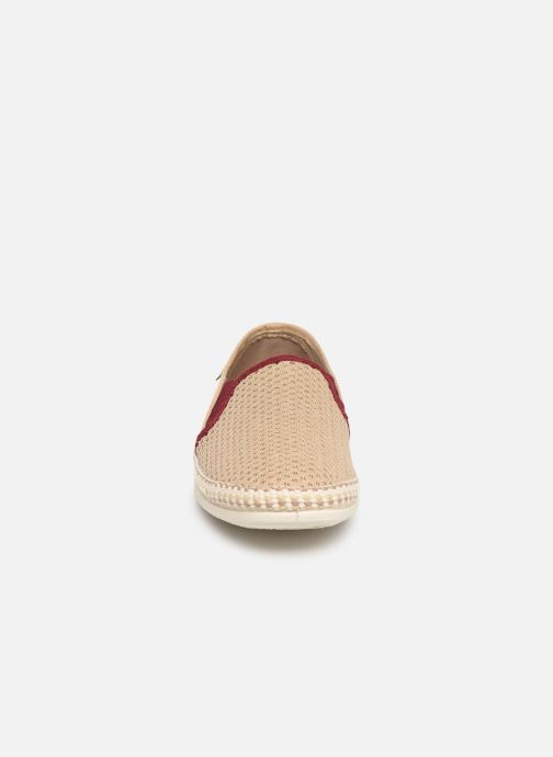 Espadrilles Victoria Andre Elasticos Antelina Pic Beige vue portées chaussures