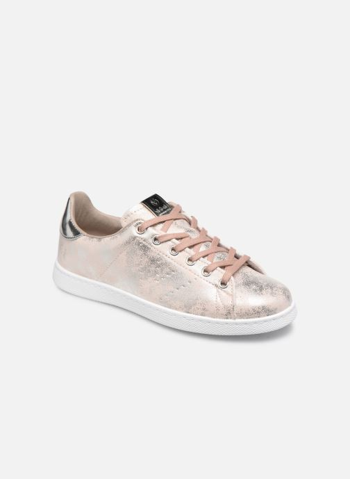 Sneakers Victoria Tenis Metalizado Roze detail