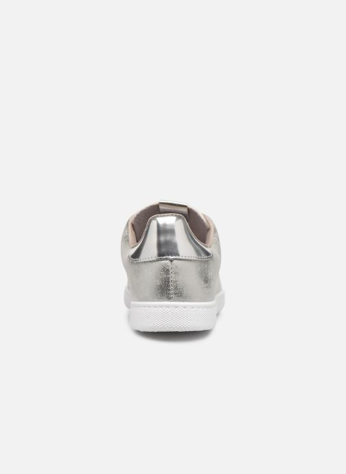 Sneakers Victoria Tenis Metalizado Zilver rechts