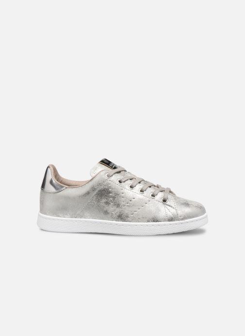 Sneakers Victoria Tenis Metalizado Zilver achterkant