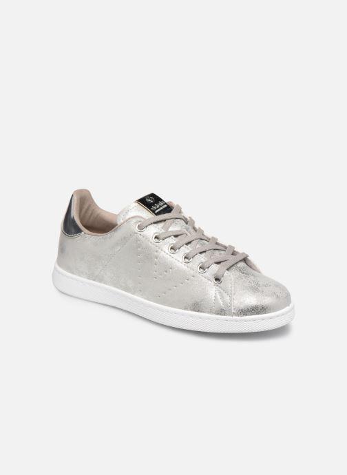Sneakers Victoria Tenis Metalizado Zilver detail