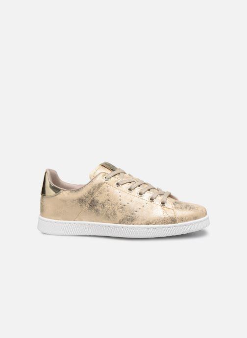Sneakers Victoria Tenis Metalizado Goud en brons achterkant