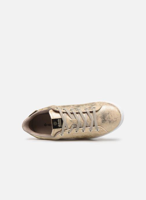 Sneakers Victoria Tenis Metalizado Goud en brons links