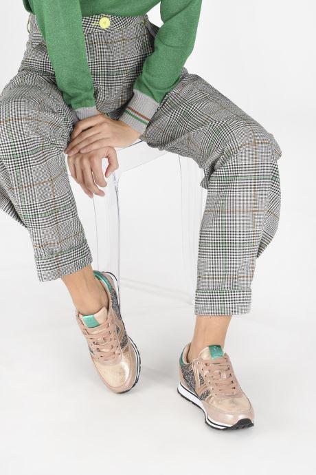 Sneakers Victoria Cometa Glitter Rosa immagine dal basso