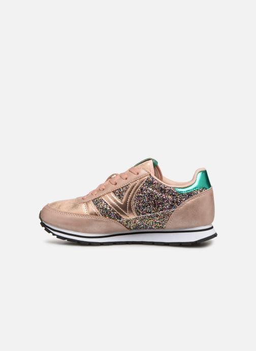 Sneakers Victoria Cometa Glitter Rosa immagine frontale