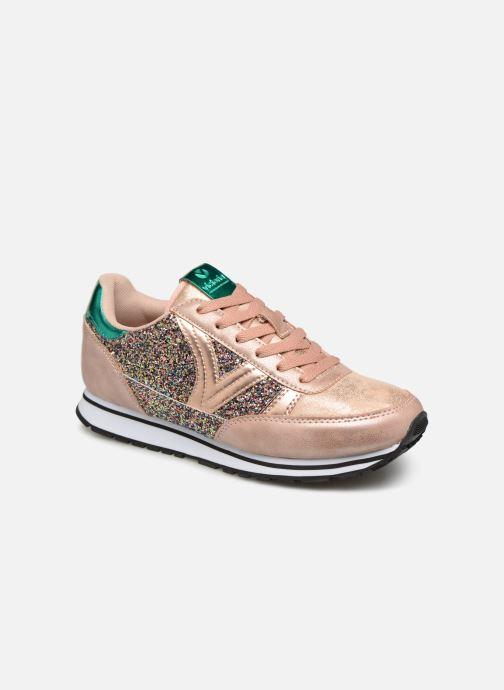 Sneakers Victoria Cometa Glitter Rosa vedi dettaglio/paio