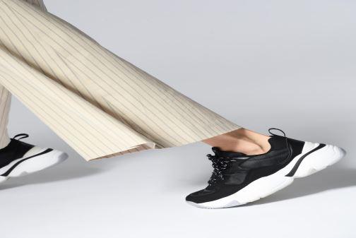Sneakers Victoria Aire Nylon/Serraje Pu Bianco immagine dal basso