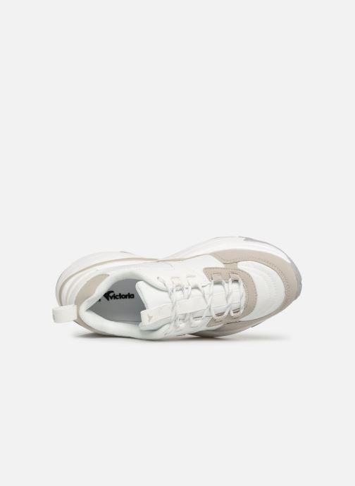 Sneakers Victoria Aire Nylon/Serraje Pu Bianco immagine sinistra