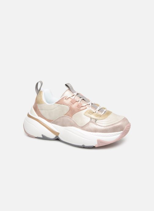 Trainers Victoria Aire Malla Engomado Beige detailed view/ Pair view