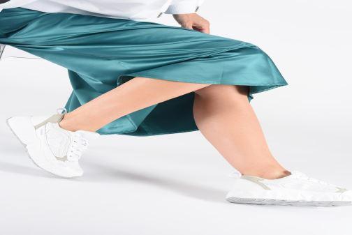 Sneakers Victoria Arista Monocromo Bianco immagine dal basso