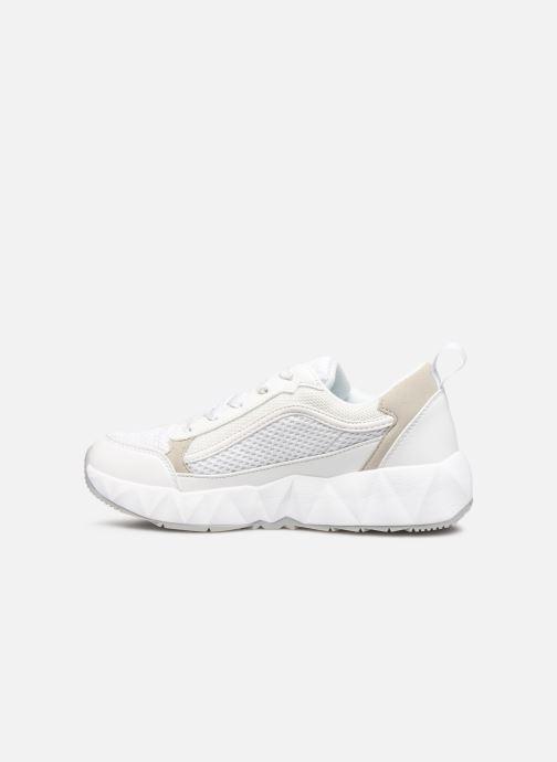 Sneakers Victoria Arista Monocromo Bianco immagine frontale
