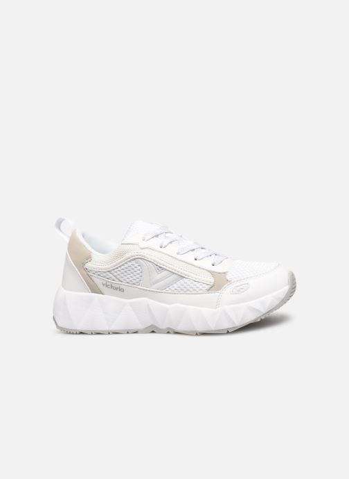 Sneakers Victoria Arista Monocromo Bianco immagine posteriore