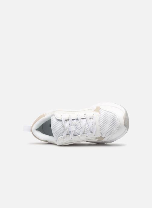 Sneakers Victoria Arista Monocromo Bianco immagine sinistra
