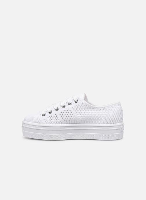 Sneakers Victoria Barcelona Tricot Wit voorkant