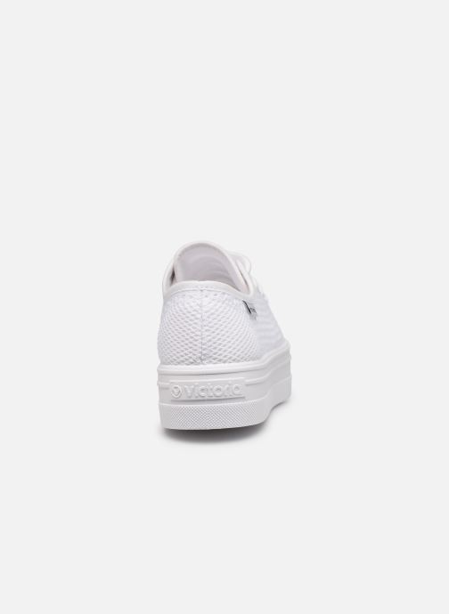 Sneakers Victoria Barcelona Tricot Wit rechts