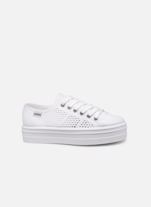 Sneakers Victoria Barcelona Tricot Wit achterkant