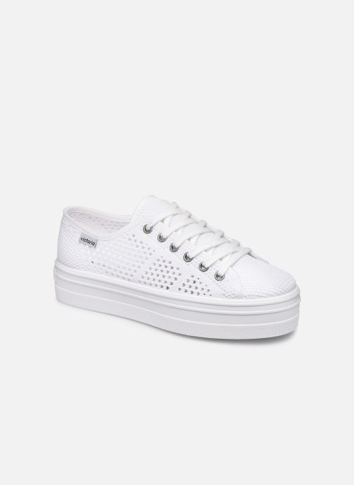 Sneakers Victoria Barcelona Tricot Wit detail