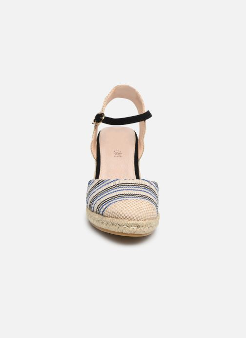 Espadrilles MTNG 50037 Beige vue portées chaussures