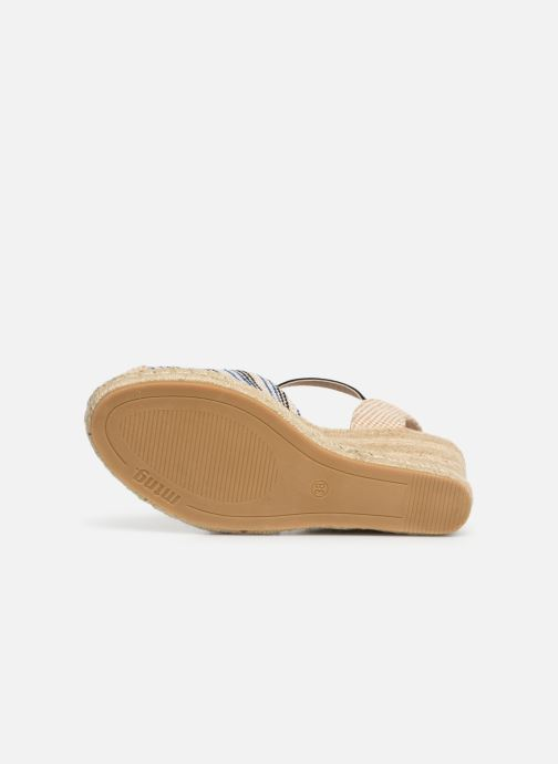 Espadrilles MTNG 50037 Beige view from above