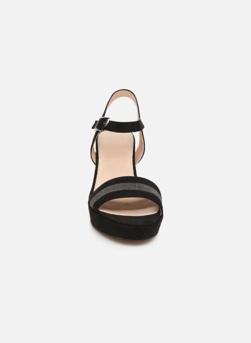 Sandales et nu-pieds MTNG 50398 Noir vue portées chaussures