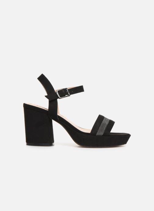 Sandales et nu-pieds MTNG 50398 Noir vue derrière