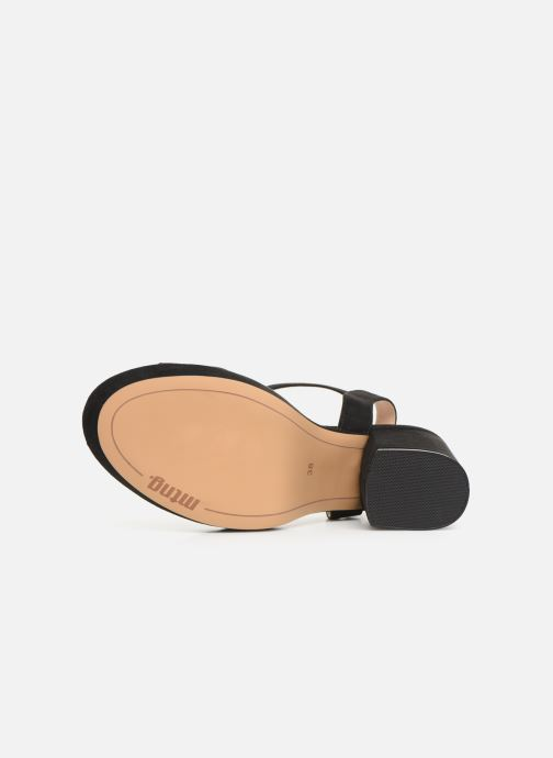 Sandales et nu-pieds MTNG 50398 Noir vue haut