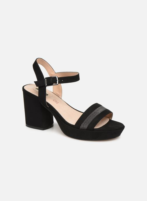 Sandales et nu-pieds MTNG 50398 Noir vue détail/paire