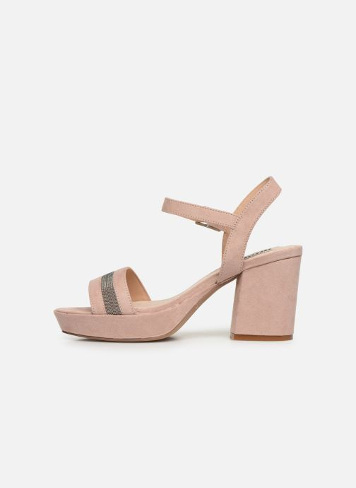 Sandales et nu-pieds MTNG 50398 Beige vue face