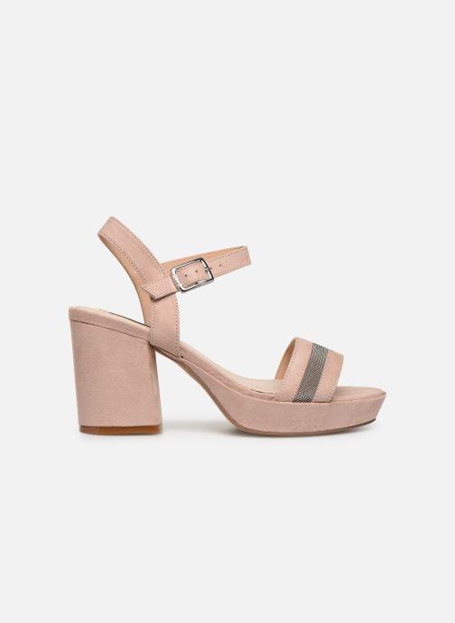 Sandales et nu-pieds MTNG 50398 Beige vue derrière