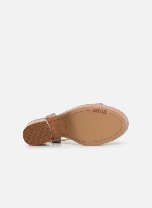 Sandales et nu-pieds MTNG 50398 Beige vue haut