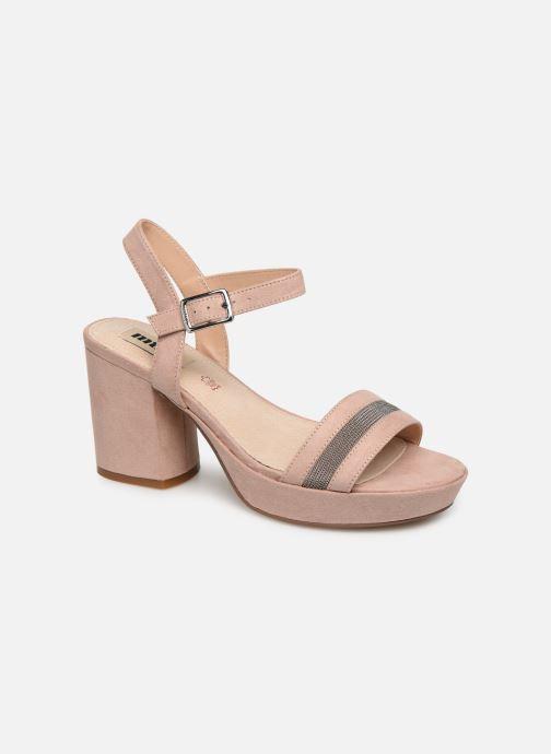 Sandales et nu-pieds MTNG 50398 Beige vue détail/paire