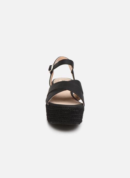 Sandales et nu-pieds MTNG 50439 Noir vue portées chaussures