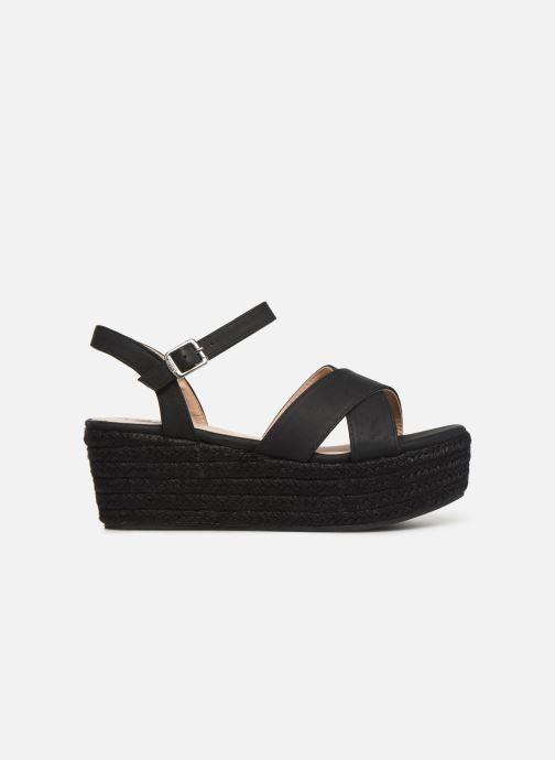 Sandales et nu-pieds MTNG 50439 Noir vue derrière