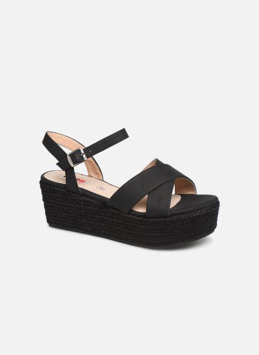 Sandales et nu-pieds MTNG 50439 Noir vue détail/paire
