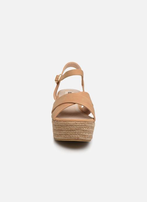Sandales et nu-pieds MTNG 50439 Beige vue portées chaussures