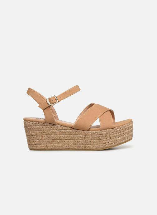 Sandales et nu-pieds MTNG 50439 Beige vue derrière