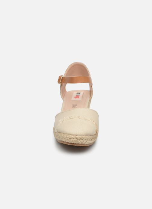 Espadrilles MTNG 50542 Beige vue portées chaussures
