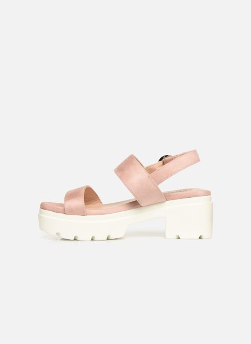 Sandales et nu-pieds MTNG 50599 Rose vue face