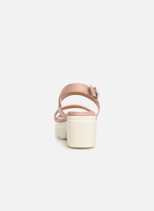 Sandales et nu-pieds MTNG 50599 Rose vue droite
