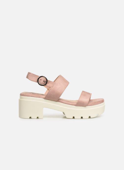Sandales et nu-pieds MTNG 50599 Rose vue derrière