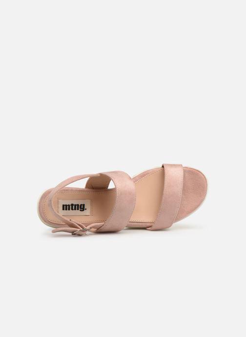 Sandales et nu-pieds MTNG 50599 Rose vue gauche